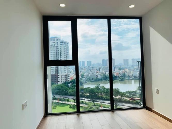 Phòng khách căn hộ Eco Green Saigon, Quận 7 Căn hộ Eco Green Saigon view thành phố cực thoáng, nội thất cơ bản.