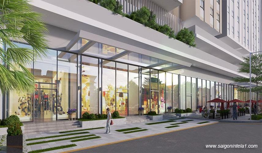 Tiện ích căn hộ Saigon Intela , Huyện Bình Chánh Căn hộ Saigon Intela tầng 08 ban công hướng Nam thoáng gió