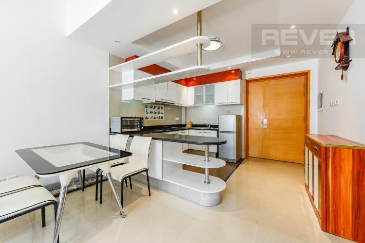 Bếp Căn hộ Saigon Pearl 2 phòng ngủ tầng thấp Topaz 2 nội thất đầy đủ