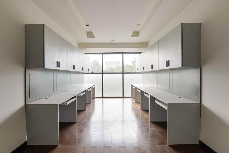Phòng Khách Bán hoặc cho thuê căn hộ officetel The Sun Avenue, block 2, diện tích 35m2, đầy đủ nội thất