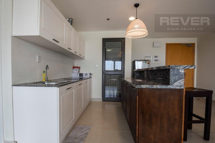 Bếp Căn góc Masteri Thảo Điền 3 phòng ngủ tầng cao T1 nội thất đầy đủ
