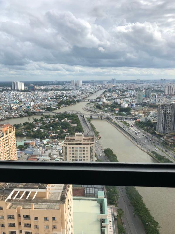 can-ho-THE-GOLD-VIEW Bán căn hộ The Gold View 3PN, tầng cao, tháp A, đầy đủ nội thất, view thành phố