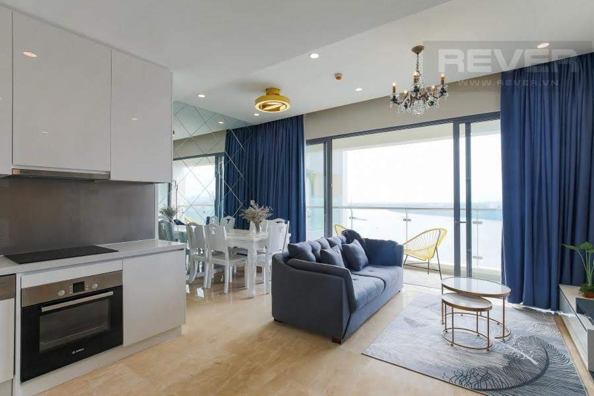Maldives Bán hoặc cho thuê căn hộ 1 phòng ngủ Diamond Island - Đảo Kim Cương, tháp Maldives, đầy đủ nội thất, view sông thông thoáng
