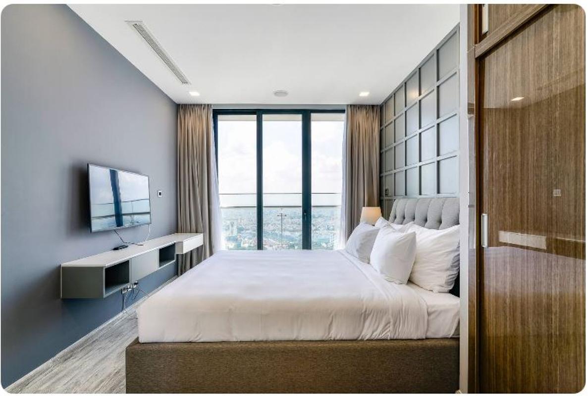 04 Bán căn hộ Vinhomes Golden River 2PN, tháp The Aqua 1, nội thất cơ bản, view sông và Landmark 81