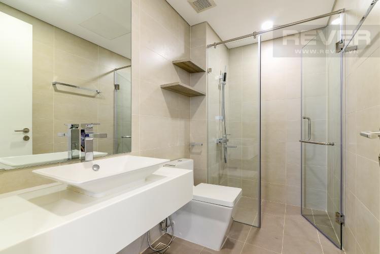 Phòng Tắm 1 Cho thuê căn hộ Masteri Millennium tầng cao, 3PN, nội thất đầy đủ