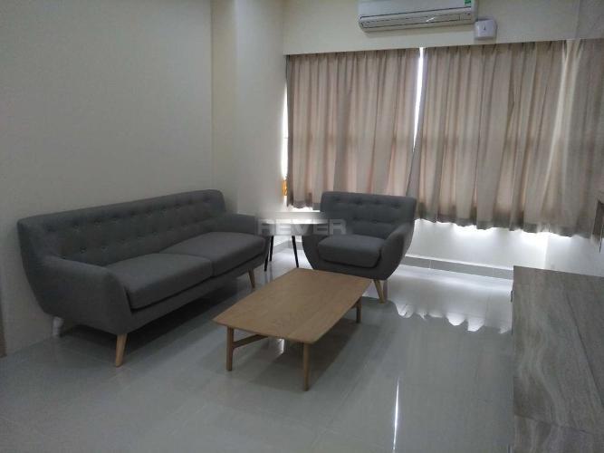 Phòng khách căn hộ Sunrise City, Quận 7 Căn hộ Sunrise City tầng cao nội thất đầy đủ, 2 phòng ngủ.