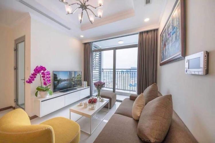 Cho thuê căn hộ Vinhomes Central Park 2PN, tháp Landmark Plus, diện tích 80m2, đầy đủ nội thất