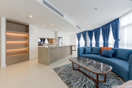 Căn hộ City Garden 3PN, đầy đủ nội thất, view đẹp