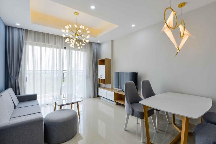Phòng Khách Cho thuê căn hộ The Sun Avenue 3PN, block 3, diện tích 90m2, đầy đủ nội thất, view đại lộ Mai Chí Thọ