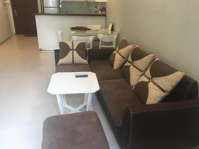 Cho thuê căn hộ The Gold View 2PN, đầy đủ nội thất, hướng ban công Đông Nam, view nội khu
