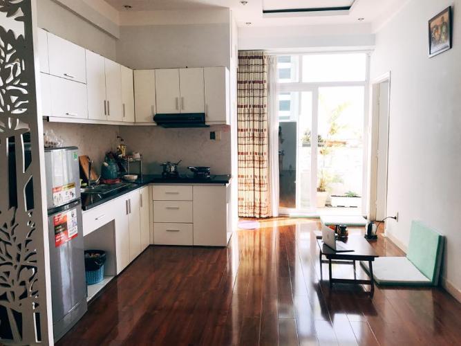 Phòng bếp căn hộ chung cư Bộ Đội Biên Phòng Căn hộ tầng 9 chung cư Bộ Đội Biên Phòng view nội khu đón gió mát.