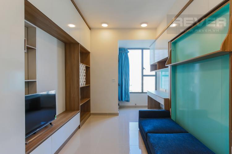 Phòng Khách Officetel RiverGate Residence 1 phòng ngủ tầng trung tháp B nội thất đầy đủ