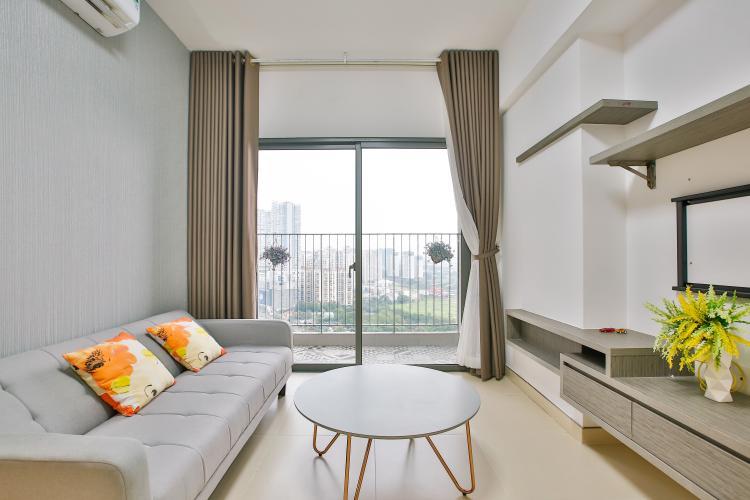 Phòng Khách Bán căn hộ Masteri Thảo Điền tầng cao, 2PN, đầy đủ nội thất