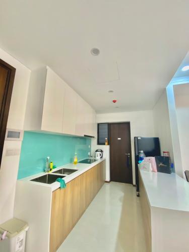 bếp  căn hộ One Verandah Căn hộ One Verandah nội thất cơ bản, view thành phố.