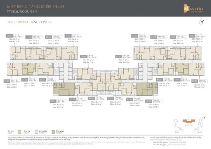 Layout tầng căn hộ Masteri Centre Point , Quận 9 Căn hội Masteri Centre Point tầng 18 view thoáng mát, thiết kế sang trọng.