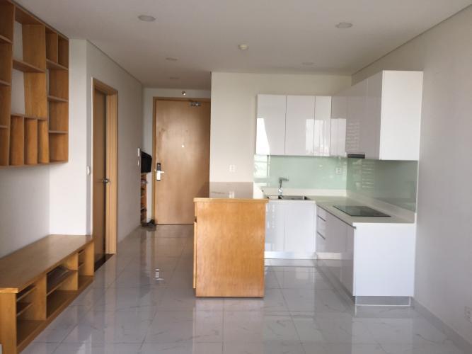 Bán căn hộ view thành phố - An Gia Skyline tầng trung, 2 phòng ngủ, diện tích 62m2, nội thất cơ bản.