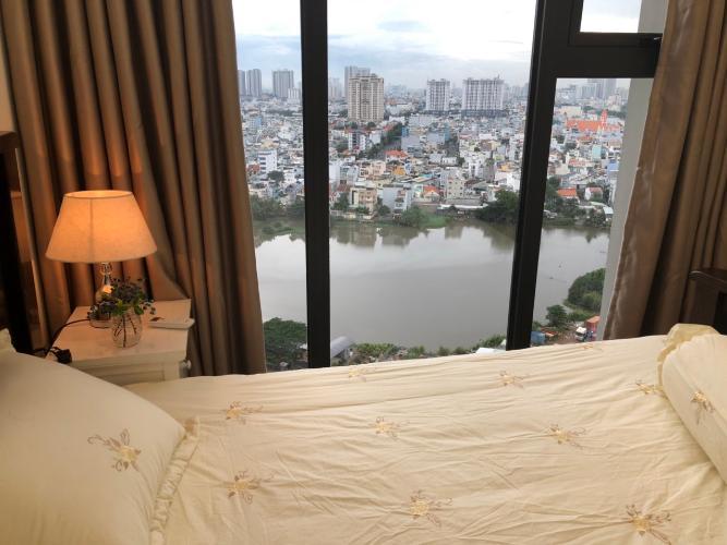 Phòng ngủ Eco Green Saigon Căn hộ Eco Green Saigon tầng cao, view thành phố sầm uất.