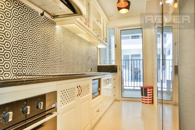 Bếp Căn hộ Vista Verde tầng trung tòa T2 nội thất đẹp nhà mới