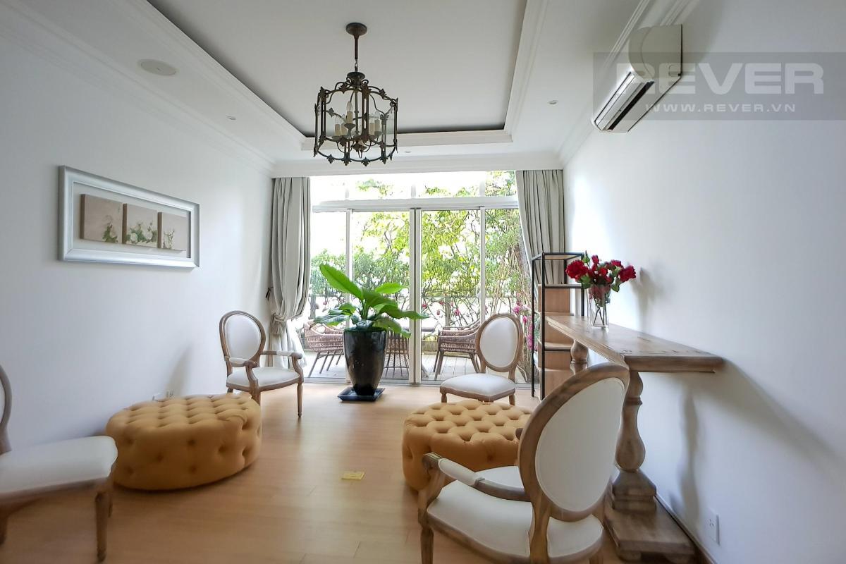 Phòng ngủ 3 Bán hoặc cho thuê căn hộ sân vườn The Vista An Phú 3PN, tháp T3, diện tích 220m2, đầy đủ nội thất