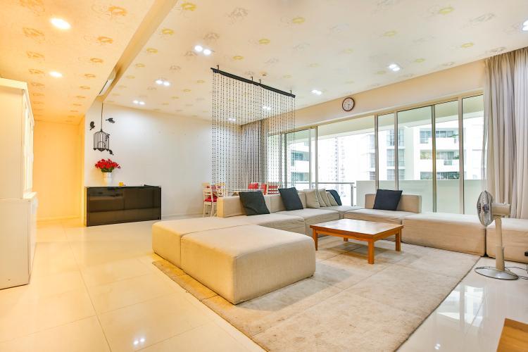 Phòng Khách Căn hộ Estella An Phú tầng trung, view đẹp, thiết kế sang trọng