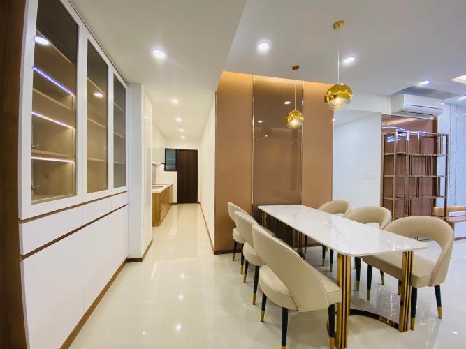 Phòng ăn căn hộ One Verandah, Quận 2 Căn hộ One Verandah đầy đủ nội thất hoàn thiện, view thoáng mát.