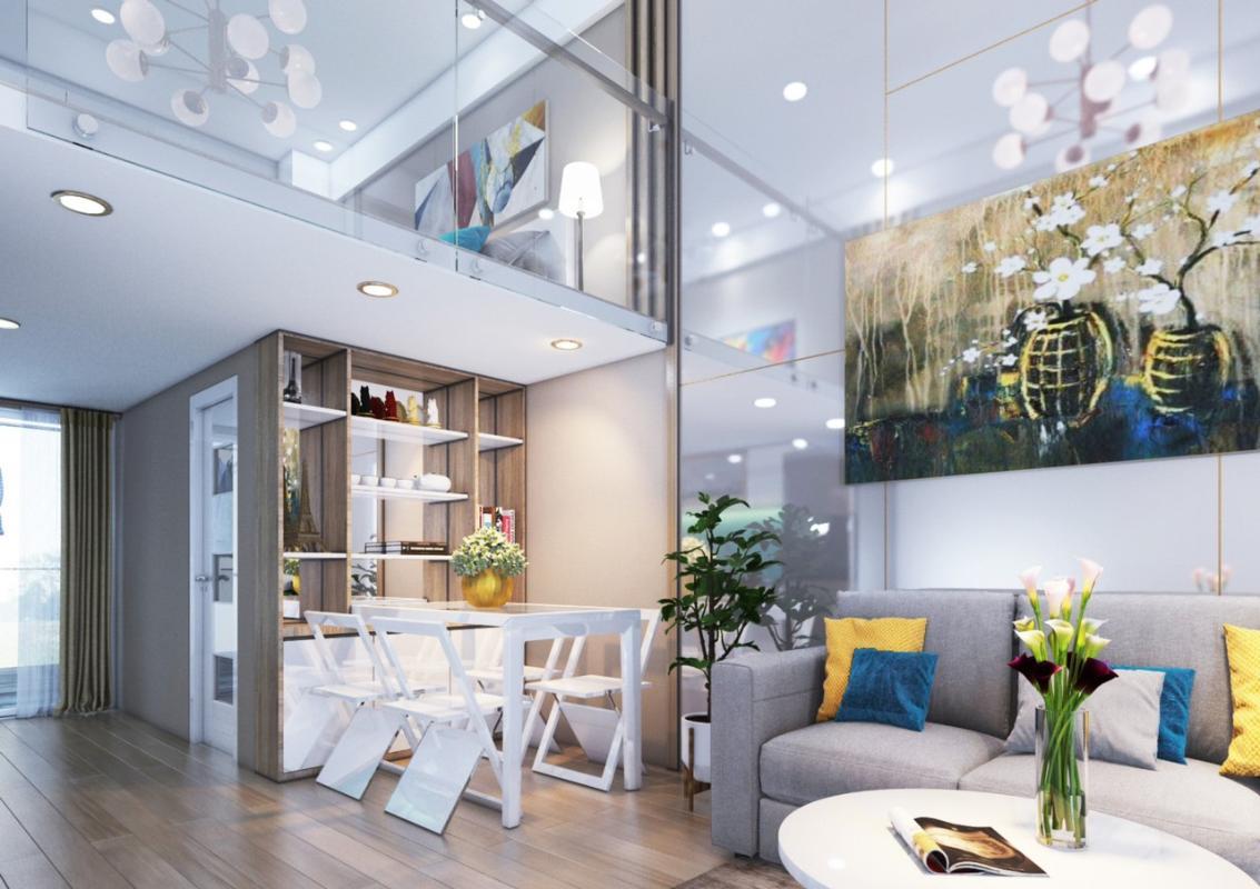 4f5fe65a6e33886dd122 Bán căn hộ 9X Bình Tân 1PN, tầng 2, diện tích 33m2m, đầy đủ nội thất, hướng cửa Đông Nam