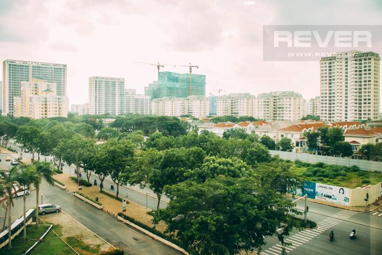 View Bán căn hộ Happy Residence 3PN, tầng thấp, block A, đầy đủ nội thất, view mặt phố