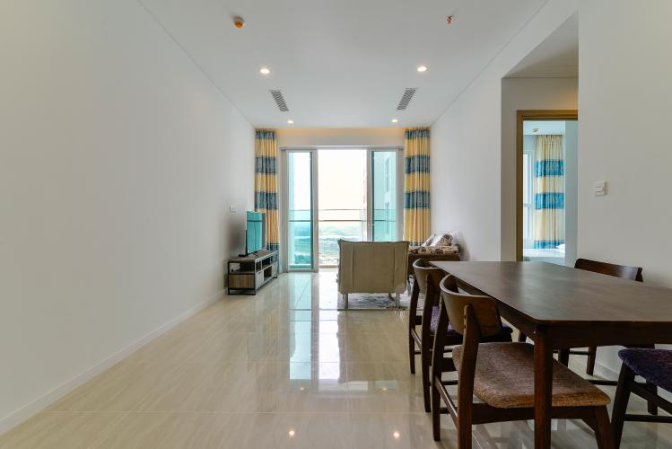 Cho thuê căn hộ Sadora Apartment 88m2 2PN 2WC, nội thất cao cấp, view hồ bơi