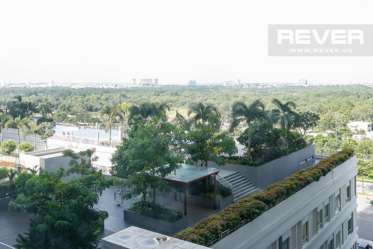 View toàn cảnh nhìn từ căn hộ Căn hộ Lexington Residence trung tầng hướng Đông Nam tháp LB