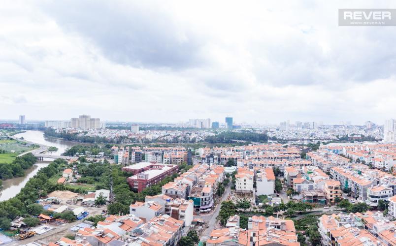 View Phòng Khách Bán căn hộ Sunrise City 2PN, tháp V2 khu South, đầy đủ nội thất, view sông thoáng đãng