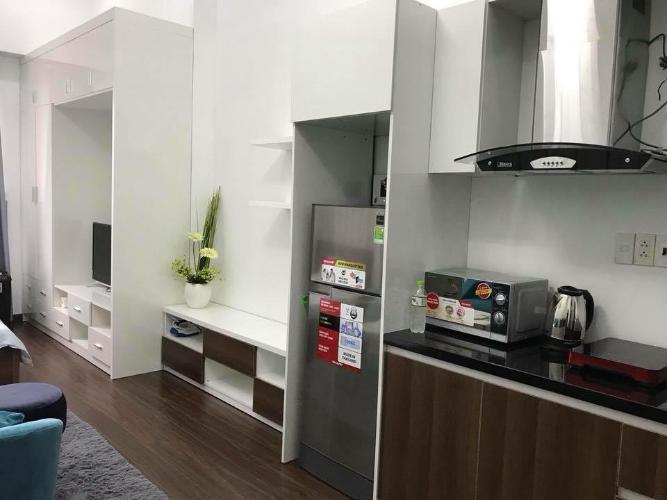 Phòng bếp căn hộ Garden Gate, Phú Nhuận Căn hộ chung cư Garden Gate ban công hướng Đông Nam, nội thất đầy đủ.