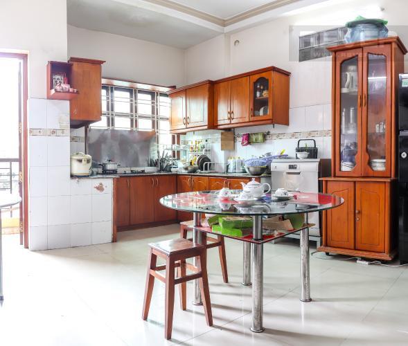 Phòng Bếp Bán nhà phố 2 tầng đường Kinh Dương Vương, Quận 6, diện tích đất 190m2, đầy đủ nội thất, cách Vòng xoay Phú Lâm 500m