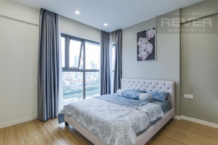 Phòng ngủ Masteri Millennium Quận 4 Căn hộ Masteri Millennium tầng 7, đầy đủ nội thất.