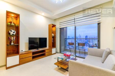 Cho thuê căn hộ The Gold View 2PN, tháp A, diện tích 81m2, đầy đủ nội thất, hướng Đông Bắc, view thành phố