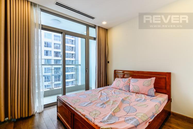 Phòng Ngủ 1 Căn hộ Vinhomes Central Park tầng cao, park 1, 3 phòng ngủ full nội thất