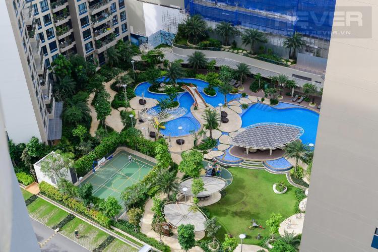 View Căn hộ The Estella Residence tầng cao, 3PN, nội thất đầy đủ, view hồ bơi