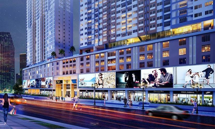 tiện ích khu mua sắpg Lavida Plus Office-tel Lavida Plus bàn giao thô, view nhìn ra thành phố.