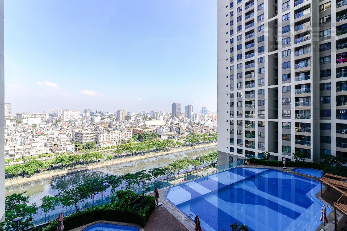 5c904ffd6cf68aa8d3e7 Cho thuê căn hộ The Gold View 2PN, tầng thấp, diện tích 91m2, đầy đủ nội thất, view thành phố và hồ bơi