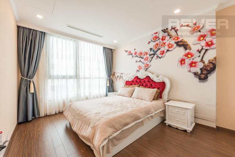 Phòng ngủ 1 Căn góc Vinhomes Central Park 3 phòng ngủ tầng cao L6 hướng Tây Bắc