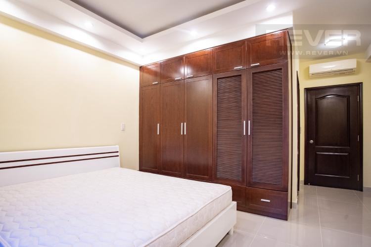 Phòng Ngủ 1 Cho thuê căn hộ Riverside Residence, tầng thấp, đầy đủ nội thất, hướng Đông đón gió