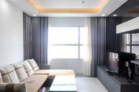 Cho thuê căn hộ Sunrise City 2PN, tầng trung, tháp X1 khu North, đầy đủ nội thất, diện tích 77m2