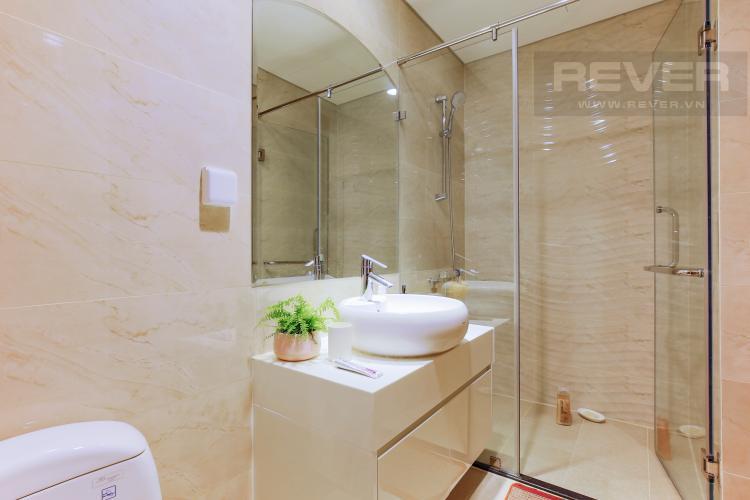 Phòng Tắm 2 Căn hộ Vinhomes Central Park tầng thấp Landmark 3 thiết kế hiện đại, trẻ trung