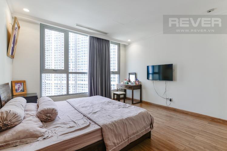 Phòng Ngủ 1 Căn hộ Vinhomes Central Park 3 phòng ngủ tầng cao C3 đầy đủ nội thất