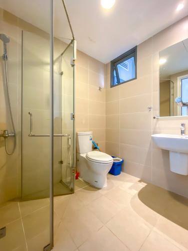nhà tắm căn hộ Masteri Thảo Điền Căn hộ Masteri Thảo Điền view thành phố và sông, đầy đủ nội thất.