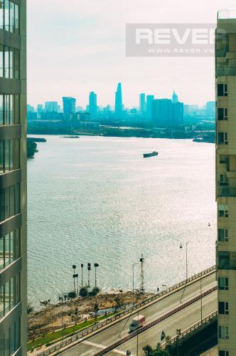 View Sông Bán hoặc cho thuê căn hộ Đảo Kim Cương 3PN tầng cao tháp Maldives, đầy đủ nội thất, view sông và Bitexco