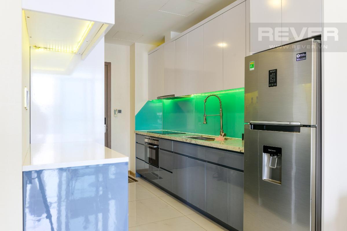 _DSC3957 Bán căn hộ Vinhomes Central Park 1PN, tháp Park 7, đầy đủ nội thất, view hồ bơi và mé sông