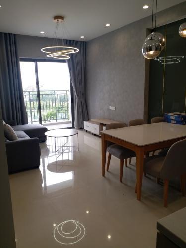 phòng khách Cho thuê căn hộ The Sun Avenue 3PN, đầy đủ nội thất, diện tích 86.6m2