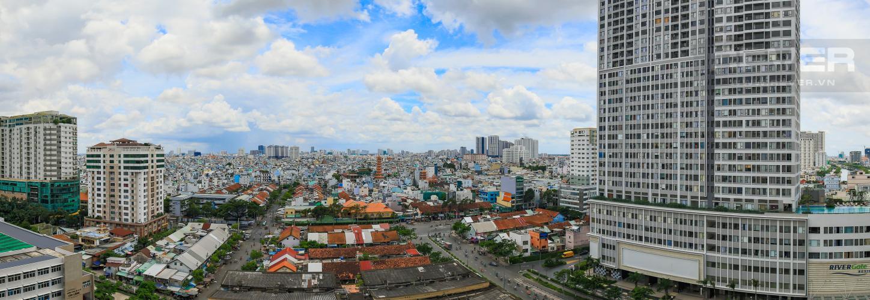 View Cho thuê căn hộ Masteri Millennium tầng trung, đầy đủ nội thất, 2PN