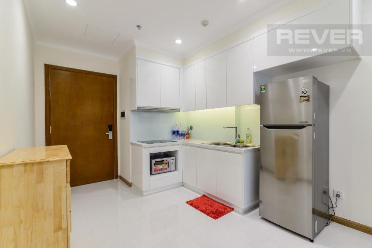Nhà Bếp Căn hộ Vinhomes Central Park 1 phòng ngủ tầng trung L5 nội thất đầy đủ