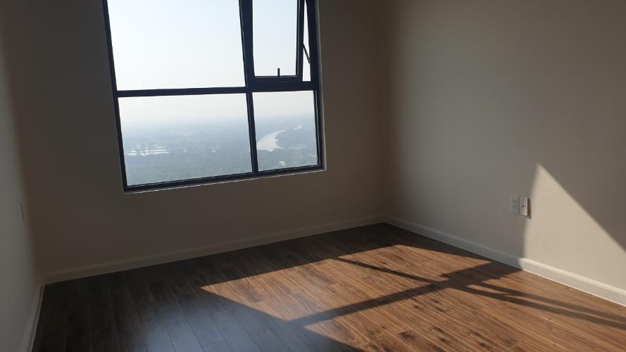Phòng ngủ căn hộ Mizuki Park Căn hộ Mizuki Park nội thất cơ bản, view cây xanh và sông.